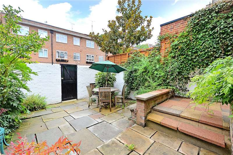 4 Bedrooms Terraced House for sale in Phillimore Gardens, and Garage 42, Kensington, London, W8