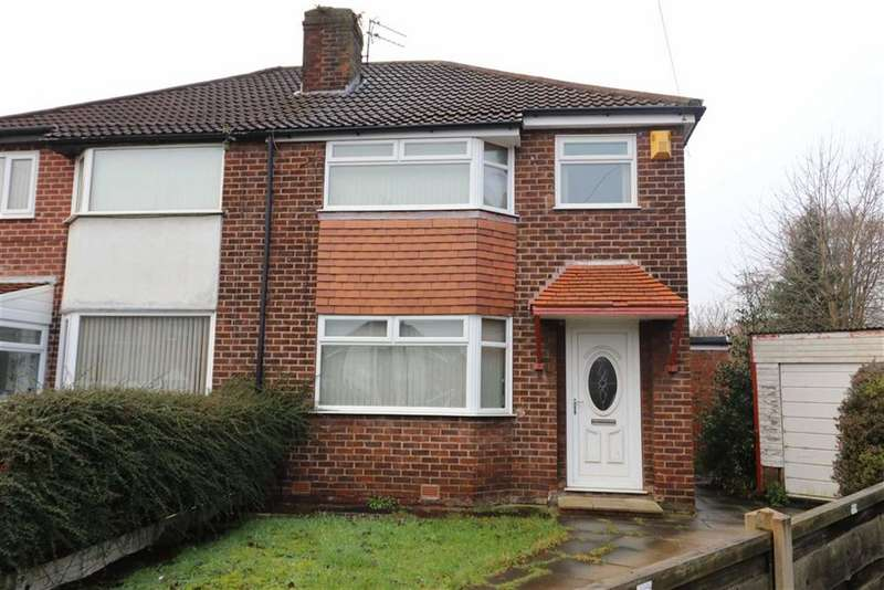 3 Bedrooms Semi Detached House for sale in Malgam Drive, East Didsbury, Manchester, M20