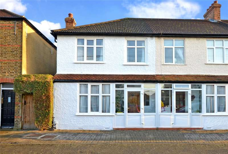3 Bedrooms End Of Terrace House for sale in Washington Road, Worcester Park, Surrey, KT4