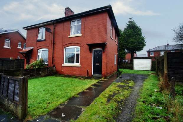 2 Bedrooms Semi Detached House for sale in Home Avenue, Bury, Greater Manchester, BL8 1HN
