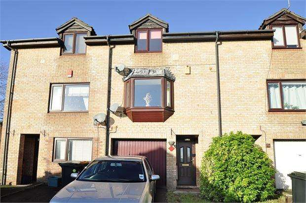 2 Bedrooms Terraced House for sale in William Morris Drive , Bishpool, Newport, Gwent . NP19 9DN
