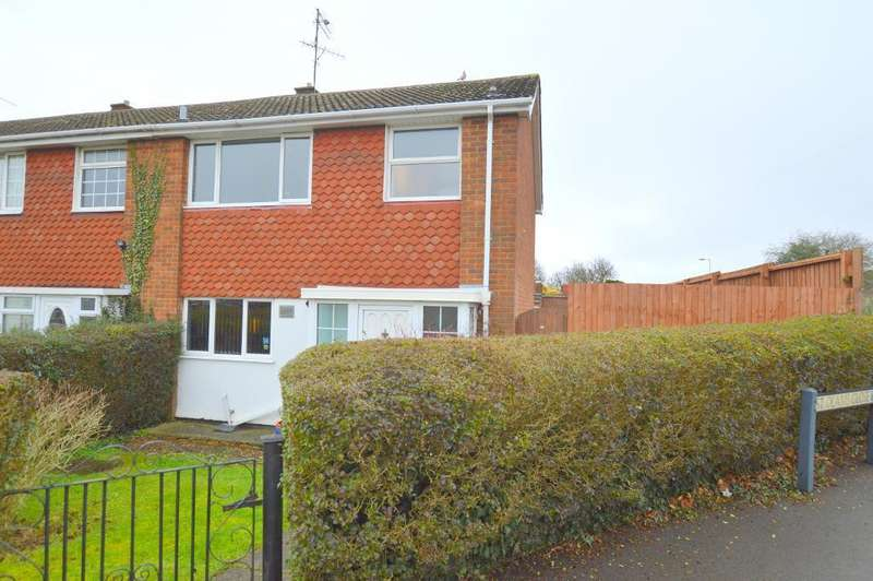 3 Bedrooms End Of Terrace House for sale in St Olams Close, Luton, LU3 2LD