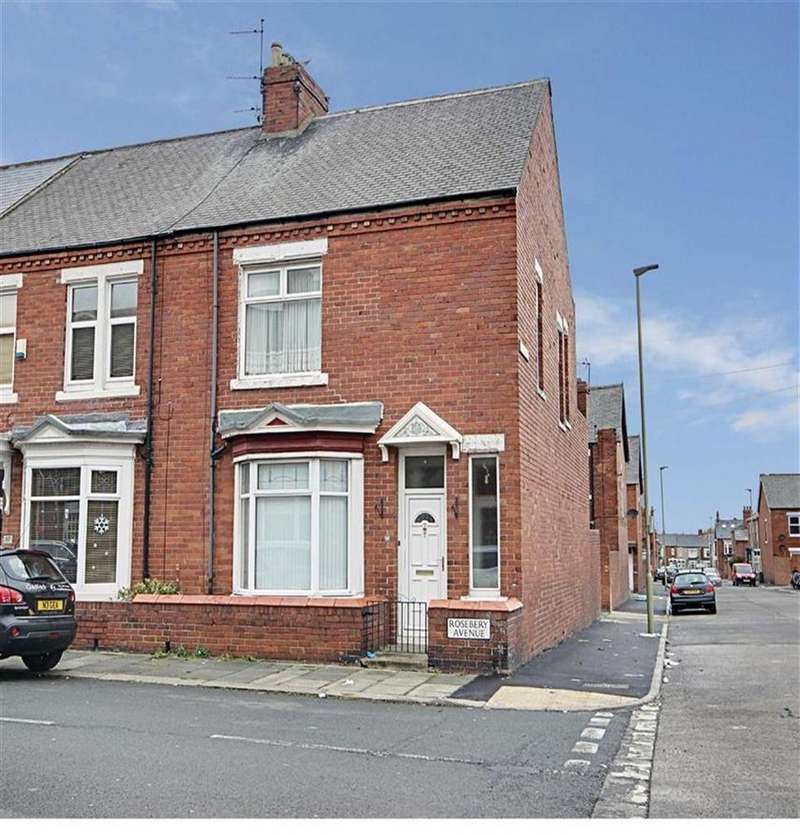 3 Bedrooms End Of Terrace House for sale in Rosebery Avenue, South Shields, Tyne And Wear