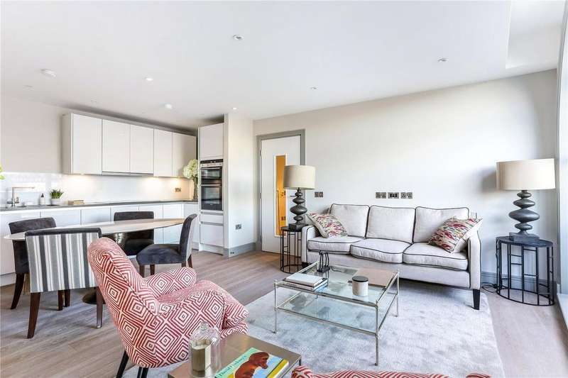 2 Bedrooms Flat for sale in Ivory House, Plantation Wharf, Battersea, London, SW11