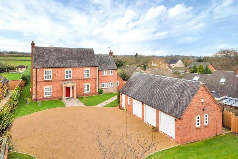 4 Bedrooms Detached House for sale in Stubwood, Uttoxeter, Staffordshire