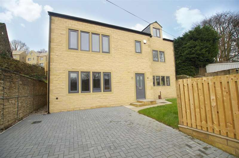 4 Bedrooms Detached House for sale in Clay House Lane, Greetland
