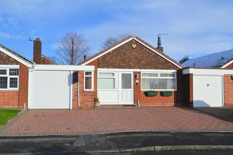 2 Bedrooms Detached Bungalow for sale in Darwin Close, Lichfield, WS13 7ET