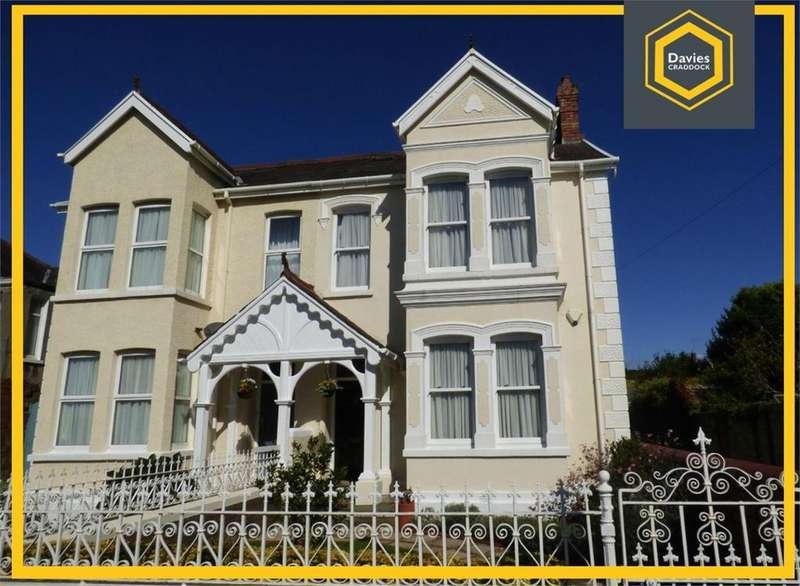 4 Bedrooms Semi Detached House for sale in Stradey Park Avenue, Llanelli, SA15