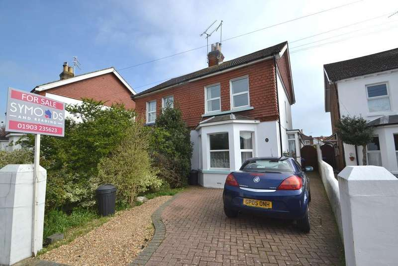 4 Bedrooms Semi Detached House for sale in The Drive, West Worthing, West Sussex, BN11 5LL