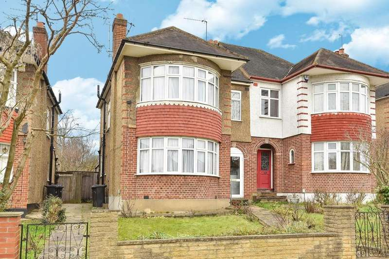 3 Bedrooms Semi Detached House for sale in Oakwood Avenue, Southgate