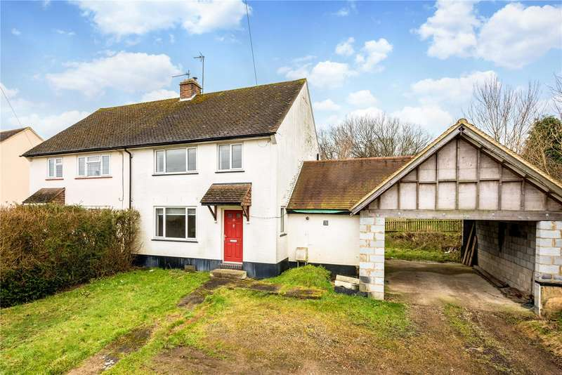 3 Bedrooms Semi Detached House for sale in Woodside Road, Sundridge, Sevenoaks, TN14