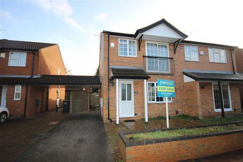 3 Bedrooms Semi Detached House for sale in Roman Wharf, Lincoln, Lincolnshire