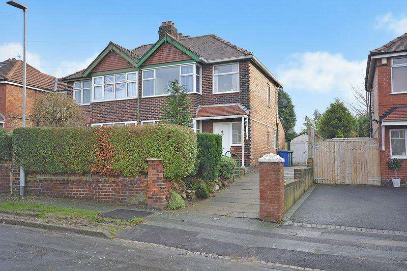 3 Bedrooms Semi Detached House for sale in Greenfields Avenue, Appleton, Warrington