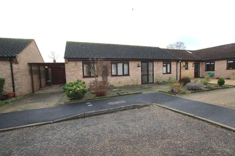 2 Bedrooms Detached Bungalow for sale in Churchill Close, Sutton