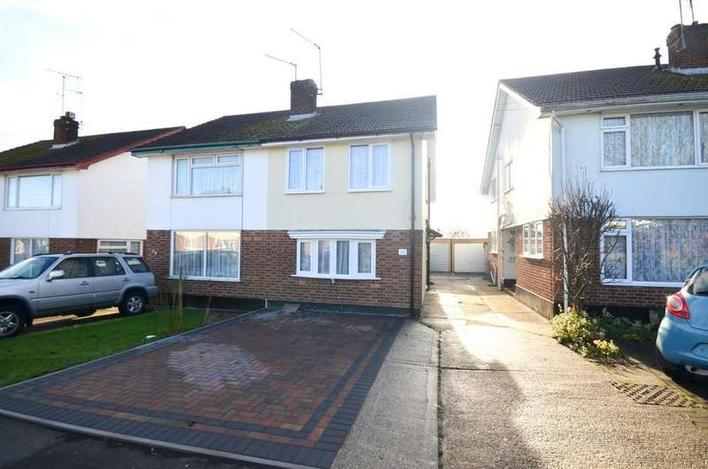 2 Bedrooms Semi Detached House for sale in Armond Road, Witham, CM8 2HB