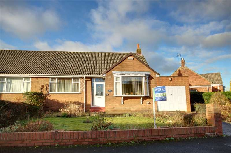 2 Bedrooms Semi Detached Bungalow for sale in Westcott Drive, Durham, DH1