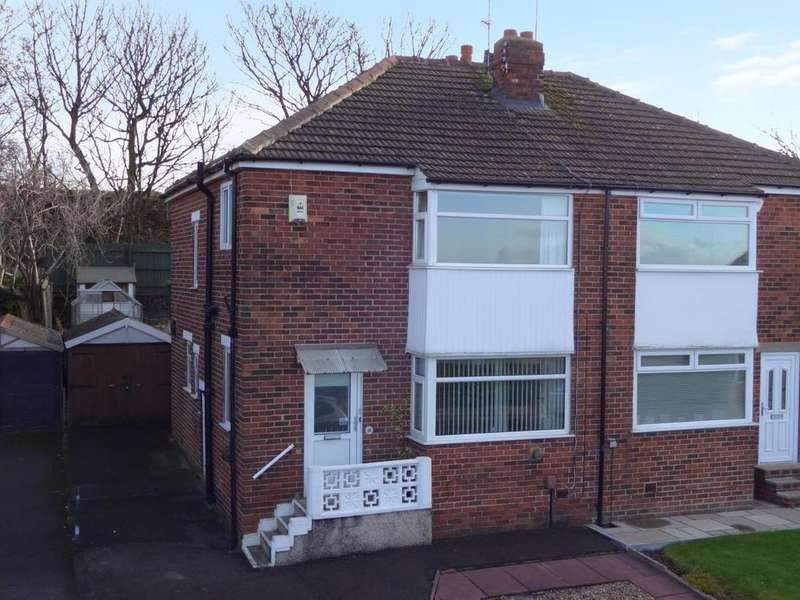 3 Bedrooms Semi Detached House for sale in Hillfoot Crescent, Pudsey
