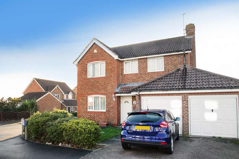 4 Bedrooms Detached House for sale in Catsfield Close, Eastbourne