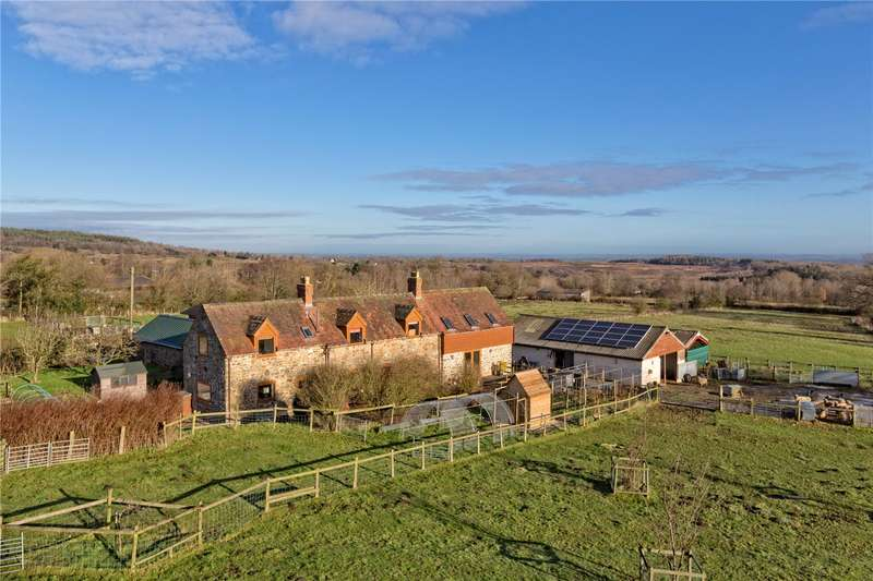 4 Bedrooms Detached House for sale in Pot House Farm, Hopton Wafers, Nr Cleobury Mortimer, Shropshire, DY14