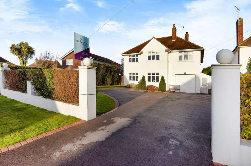 4 Bedrooms Detached House for sale in Crossbush Road, Summerley, Felpham, Crossbush Road, PO22