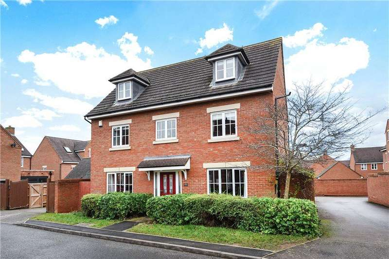5 Bedrooms Detached House for sale in Dolcey Way, Sharnbrook, Bedfordshire