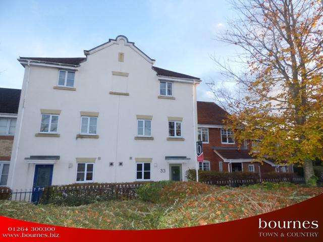 4 Bedrooms Town House for sale in ELDER CRESCENT, BURGHCLERE DOWN, ANDOVER SP10