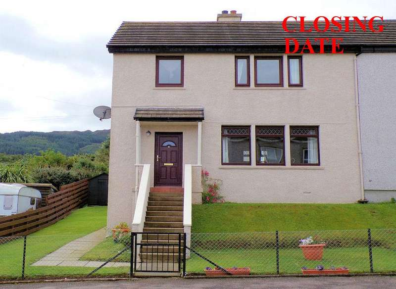 3 Bedrooms Terraced House for sale in 85, Ralston Road, Campbeltown