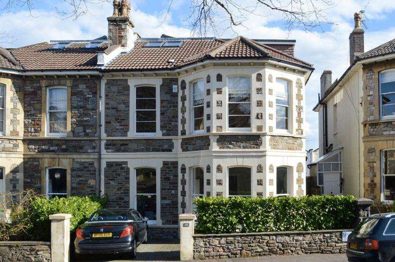 6 Bedrooms Semi Detached House for sale in Woodfield Road, Redland