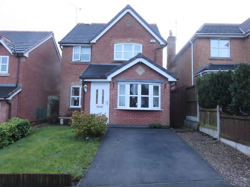 3 Bedrooms Detached House for sale in Ruabon Close, Biddulph ST8