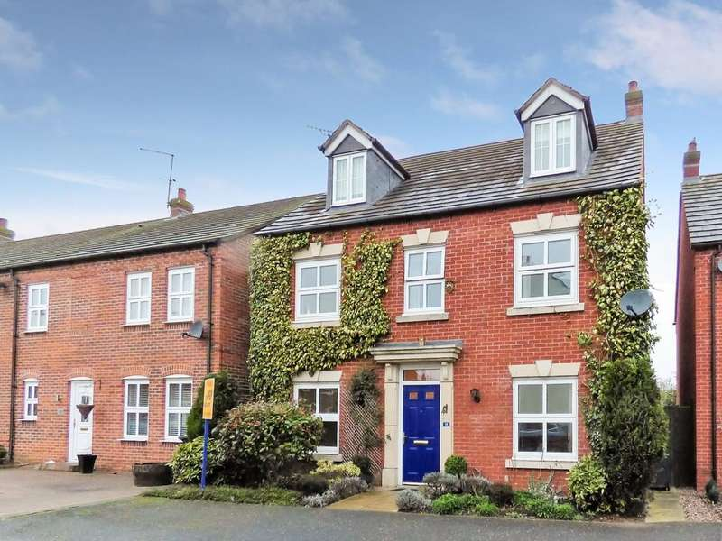 5 Bedrooms Detached House for sale in Horner Avenue, Fradley