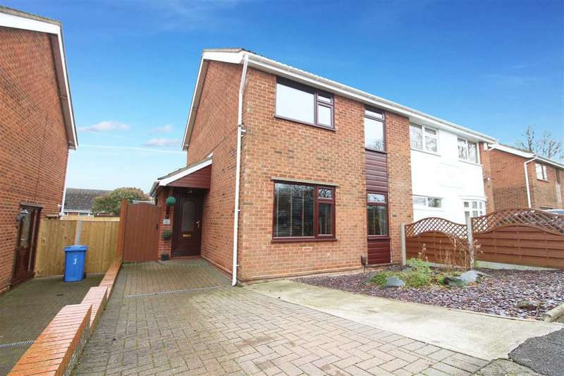 4 Bedrooms Semi Detached House for sale in Sawston Close, Ipswich
