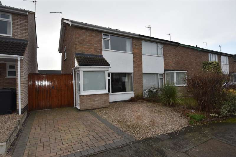 2 Bedrooms Semi Detached House for sale in Wallace Drive, Sileby