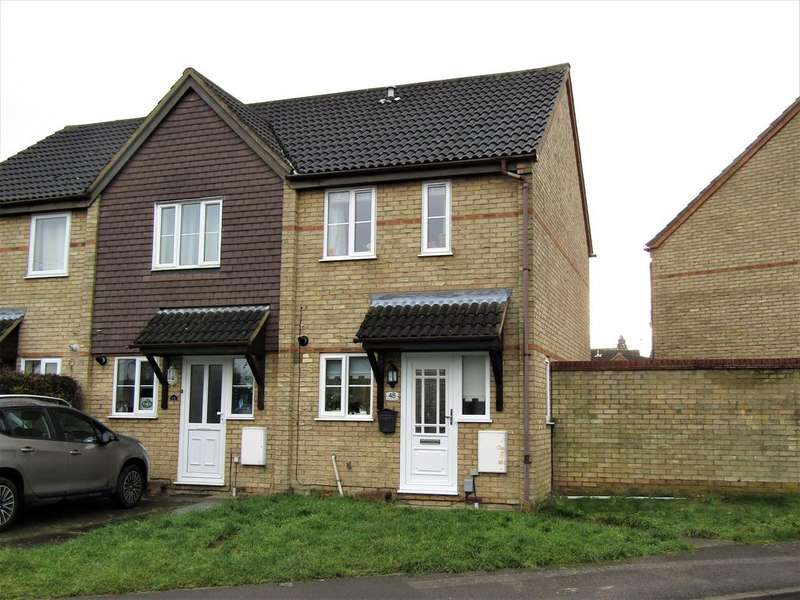 2 Bedrooms End Of Terrace House for sale in Hospital Road, Arlesey SG15