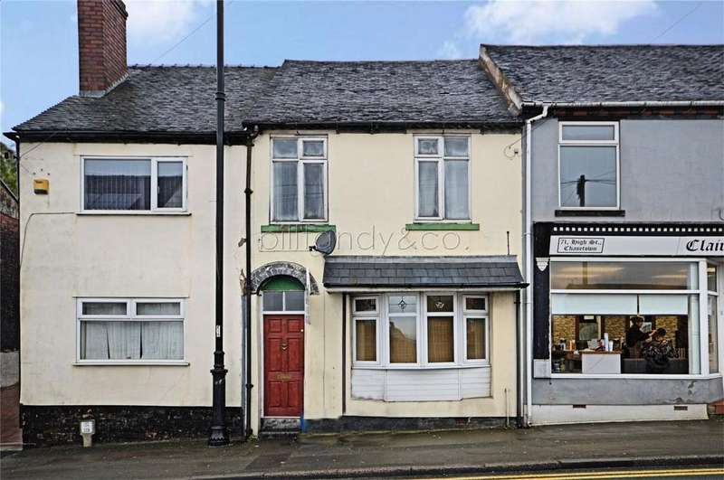 3 Bedrooms Terraced House for sale in High Street, Chasetown, Staffordshire