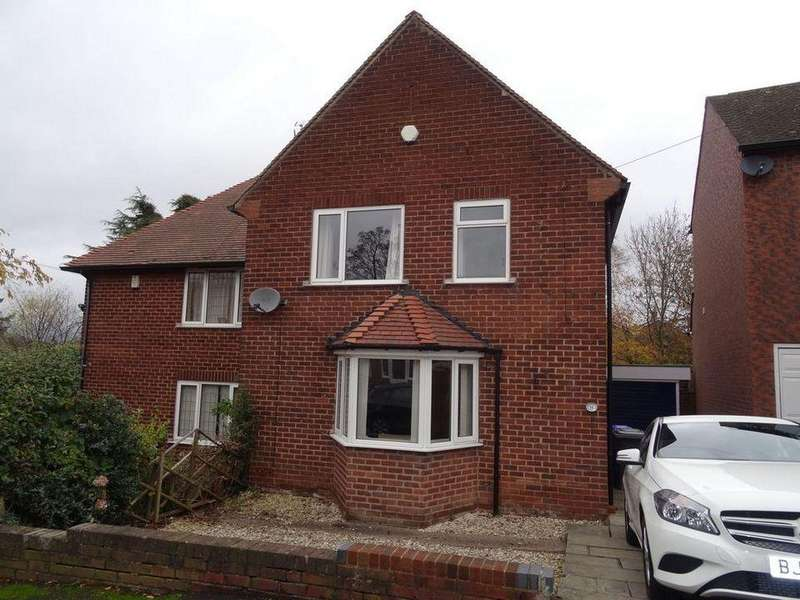 3 Bedrooms Semi Detached House for rent in 11 Meadowhead Drive, Meadowhead, Sheffield S8 7TQ
