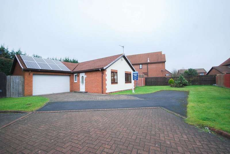 2 Bedrooms Bungalow for sale in Fareham Grove, Boldon Colliery