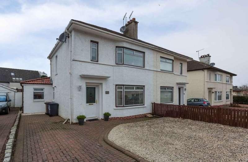 3 Bedrooms Semi Detached House for sale in Douglas Avenue, Elderslie, Renfrewshire, PA5 9NE