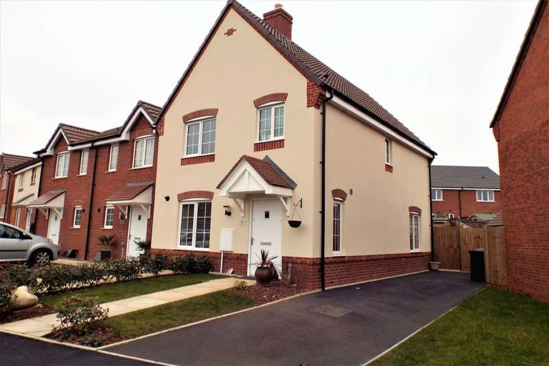 3 Bedrooms Terraced House for sale in Crump Way, Evesham, WR11