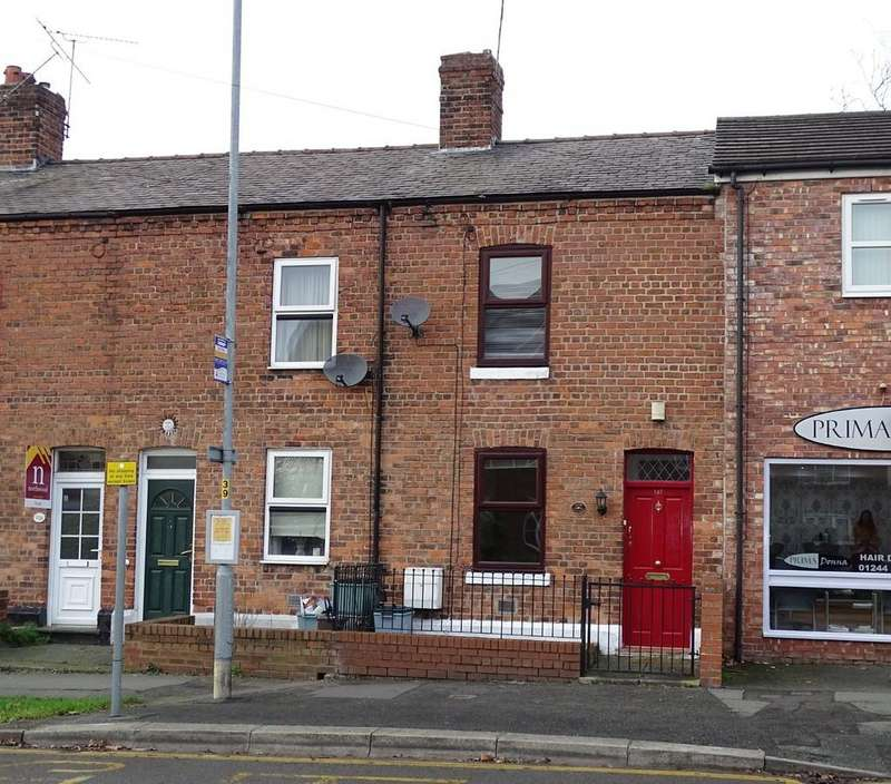 2 Bedrooms Terraced House for sale in Hoole Lane, Chester