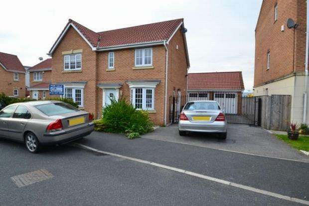 4 Bedrooms Semi Detached House for sale in Edgecote Close Sharston Manchester M22 4ut
