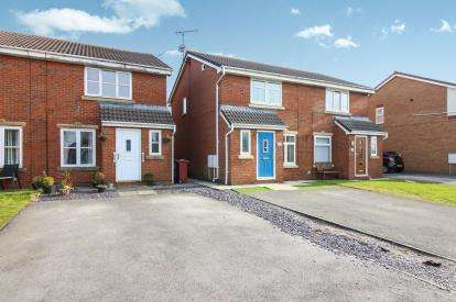 3 Bedrooms Semi Detached House for sale in Delphinium Way, Lower Darwen, Darwen, Lancashire, BB3