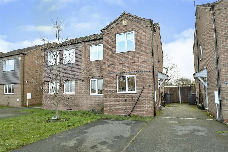 3 Bedrooms Semi Detached House for sale in Ludford Close, Long Eaton
