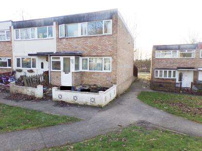 3 Bedrooms End Of Terrace House for sale in Tulla Court, Bletchley, Milton Keynes