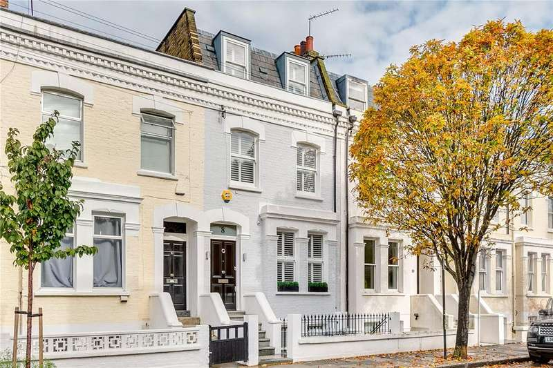 4 Bedrooms Terraced House for sale in Kilmaine Road, Fulham, London