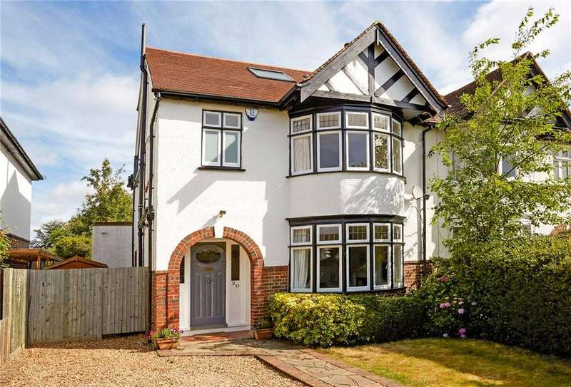 4 Bedrooms Semi Detached House for sale in Lime Tree Avenue, Esher, Surrey, KT10