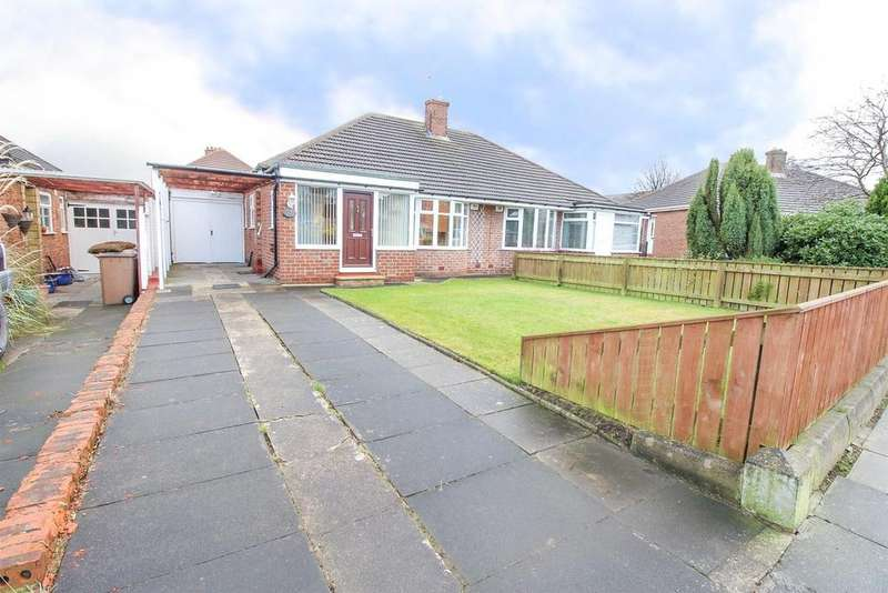 2 Bedrooms Semi Detached Bungalow for sale in Halton Drive, Woodlands Park, Newcastle upon Tyne