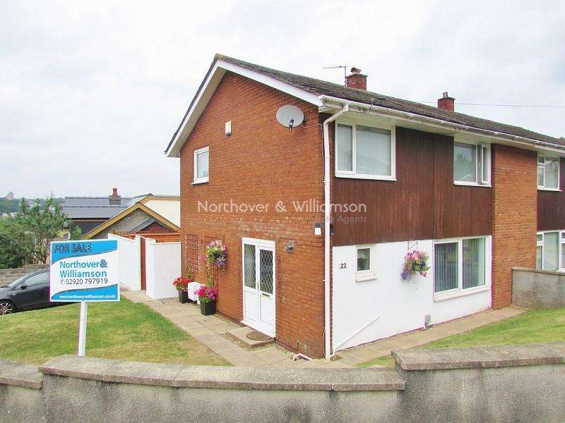 3 Bedrooms Semi Detached House for sale in Hatherleigh Road, Rumney, Cardiff, Cardiff. CF3