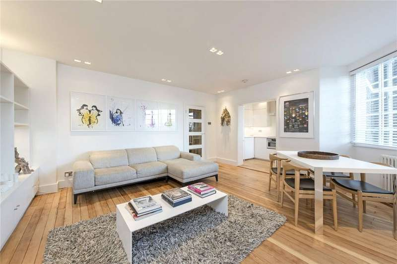 2 Bedrooms Flat for sale in Hightrees House, Nightingale Lane, Clapham South, London, SW12