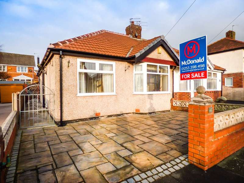 2 Bedrooms Semi Detached Bungalow for sale in Kendal Avenue, Blackpool, Lancashire