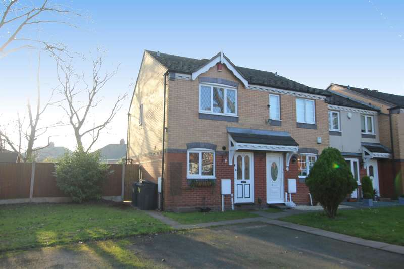 2 Bedrooms End Of Terrace House for sale in Brueton Drive, Birmingham, B24 9BQ